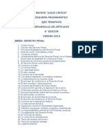 Revista Derecho Penal