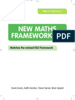 New Maths Frameworking Year 7 Pupil Book 3