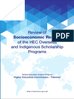Socioeconomic Results of the HEC Scholarship Programs_30!03!2016 Final