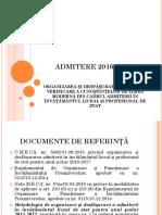 Admitere Bilingv 2016 2017