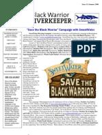 SUMMER 2008 Black Warrior Riverkeeper