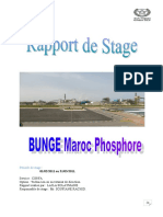 Rapport de Stage OCP Maroc Phosphore