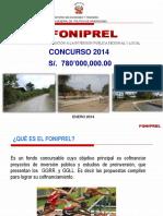 Exposicion de Bases Foniprel 2014 Proyectos - Estudios