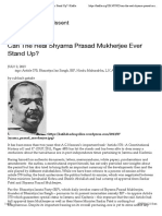 Can The Real Shyama Prasad Mukherjee Ever Stand Up? | Kafila