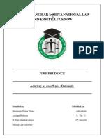 Jurisprudence Fd