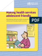 2013 - Standars for Adolescents Health Services 9789241503594_eng
