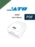 SA408 User's Manual