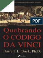 Quebrando o Codigo Da Vinci - Darrell L. Bock
