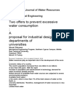 International Journal of Water Resources And