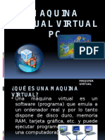 Insta Laci ó n Virtual Pc