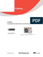 VRF C Series Catalog MS PRC020 Product Catalog Ducted