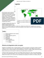 Línguas Indo-europeias – Wikipédia, A Enciclopédia Livre