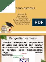 Tekanan Osmosis