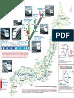 Japan Rail Map
