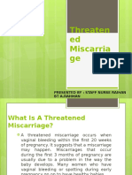 Threatened Miscarriage