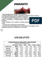 Presentazione Amaranto