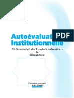Auto Evaluation Institution Nelle