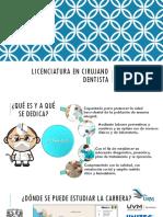 Licenciatura en Cirujano Dentista