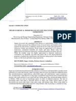 PHYSICOCHEMICAL PROERTIES OF GELATIN THAT ENHANCE SUGAR CRAFT EXPRESSIONS - Onyemize U.C