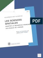Les Sciences Spatiales Ed1 v1
