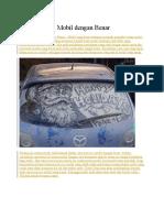 Cara Mencuci Mobil Dengan Benar
