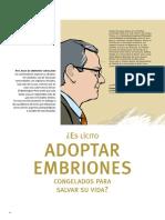 ¿ES LÍCITO ADOPTAR EMBRIONES CONGELADOS PARA SALVAR SU VIDA, POR RAÚL MADRID.pdf