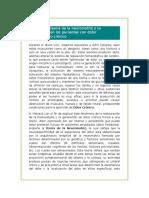 Describir La Teoría de La Neuromatriz y Su Implicancia en Los Pacientes Con Dolor Lumbopélvico Crónico