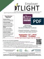 Employer Spotlights September 2016