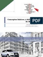 UNIDAD 1 Conceptos Básicos y Definiciones de Marketing