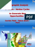 Stratigraphic Analysis of Talara – Verdun Cycles to Generate New Opportunities