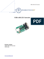 USB to RS-232 Converter (2)