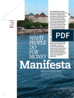 What People Do for Money - Manifesta 11