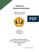Perubahan Organisasi