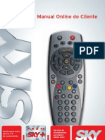 manual online do cliente sky+