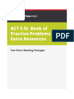 5 Lb Act Extra Two Extra Passages