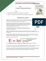 TEORIA MECANO CUANTICA Y CONFIGURACION ELECTRONICA.doc