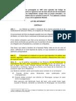 Ley Del Notariado de Nicaragua Con Sus Reformas