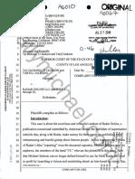 3T Complaint for Libel against Radar Online