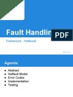Fault Handling Framework