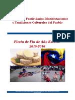 Orientaciones Fiesta de Fin de Año 2015-2016