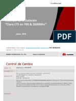 Estandar de Instalacion Claro LTE 700&2600Mhz V1_20160614-Beta