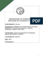 Gonzalez Bollo - Seminario