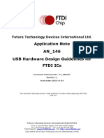 An 146 USB Hardware Design Guidelines for FTDI ICs