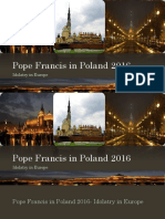 Pope Francis in Poland 2016