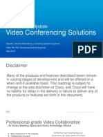 Cisco Virtual Update Video Conferencing Solutions 24maj