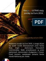 Rosyjscy ULTRAS Sieją Panikę Na Euro 2016