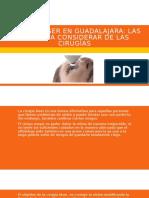 Cirugía Láser en Guadalajara