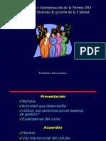 Curso Norma ISO 9001 Profesionales