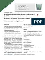 Alteraciones Del Desarrollo Puberal (Actualizado Febrero de 2013)