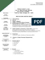 Southgate school board agenda August 2, 2016